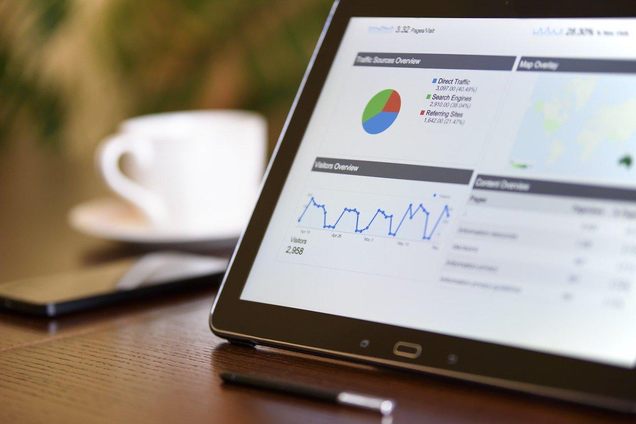 digital marketing, technology, notebook